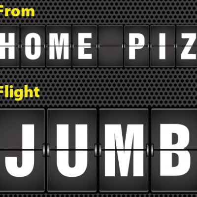 Home pizza JUMBO
