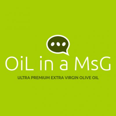 «OiL in a MsG Logo