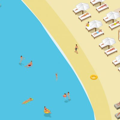 AKTI TOU ILIOU – 3D Beach Map